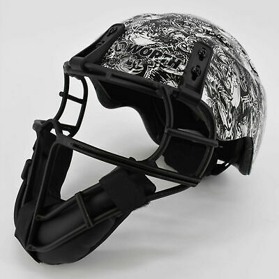 Worth Legit Slowpitch Softball Pitcher/'s Protective Face Mask LGTPH
