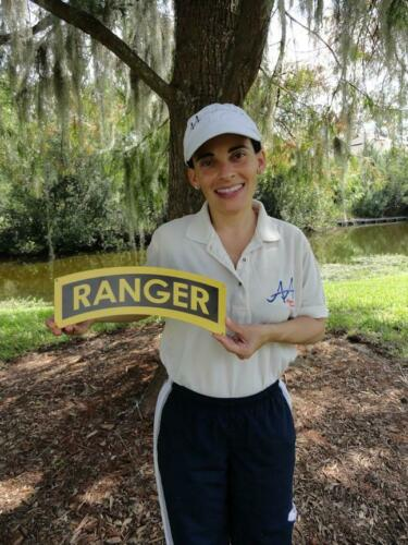 Ranger Tab Sign Small