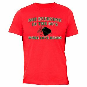 60-039-s-Love-Beads-T-Shirt-4th-of-july-clothes-Fourth-Army-American-USA-Tag-Tshirt