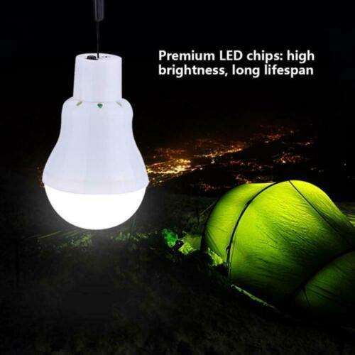 Portable Bulb Outdoor /& Indoor Solar Powered LED Lighting System Solar J1G8