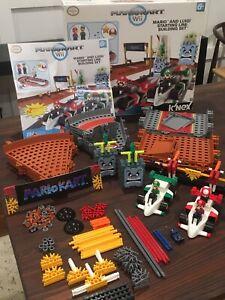 Mario Kart Wii Knex Mario and Luigi Starting Line Building Set Toy 95% Complete