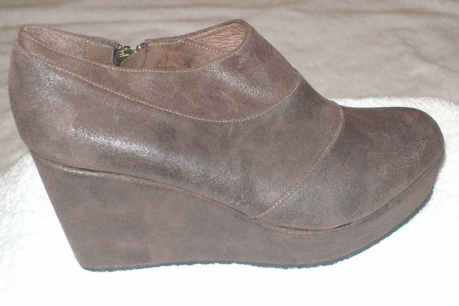 Cordani Faith Brown Boots 7M  New