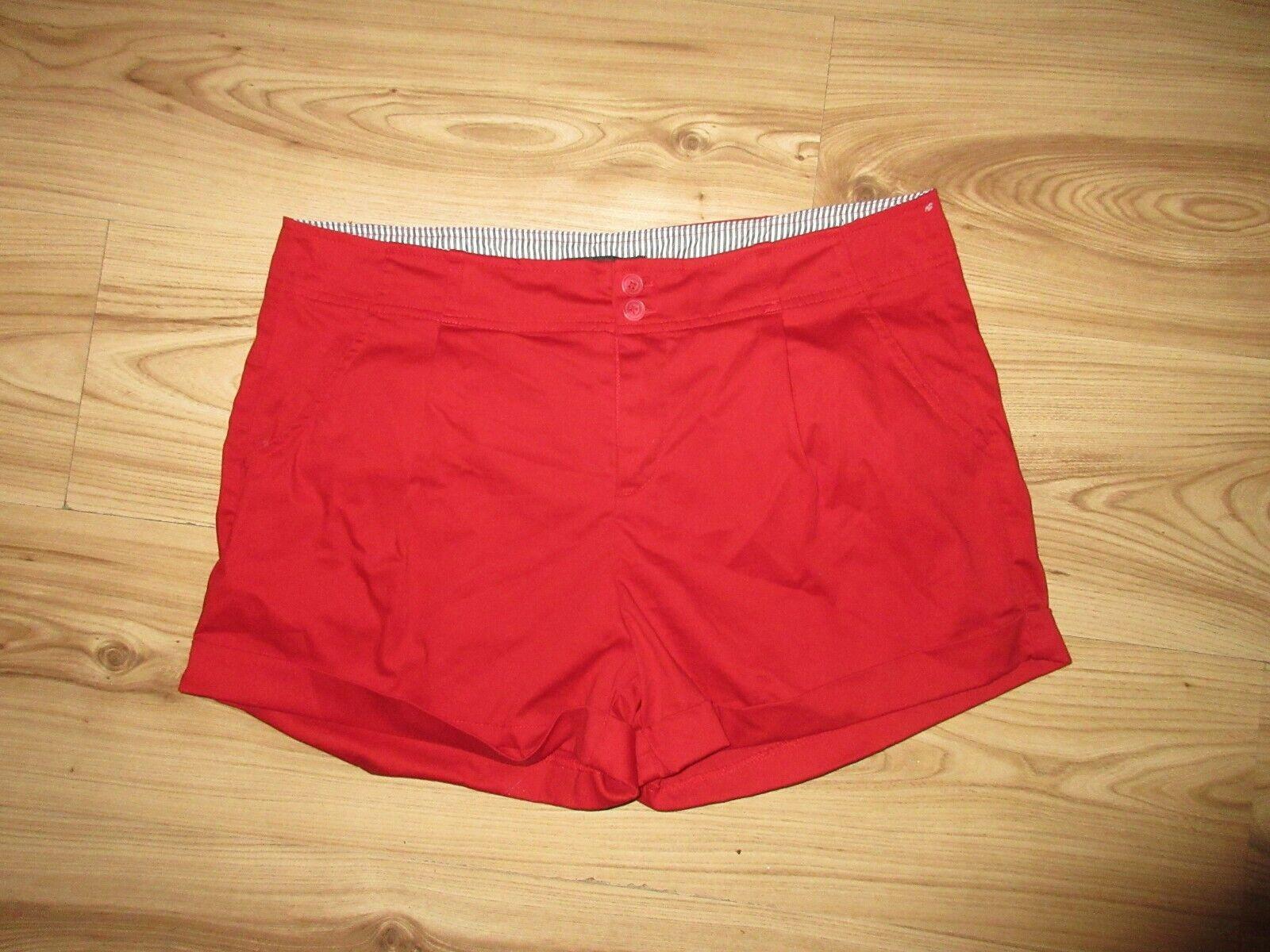 Active USA Shorts kurze Hose rot Grösse L