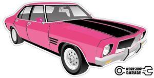 New-Collectable-Holden-HQ-Monaro-GTS-4Door-Pink
