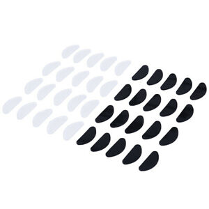 10pcs-Anteojos-Almohadillas-Nasales-Gafas-Adhesivas-Silicona-Antideslizan-ws