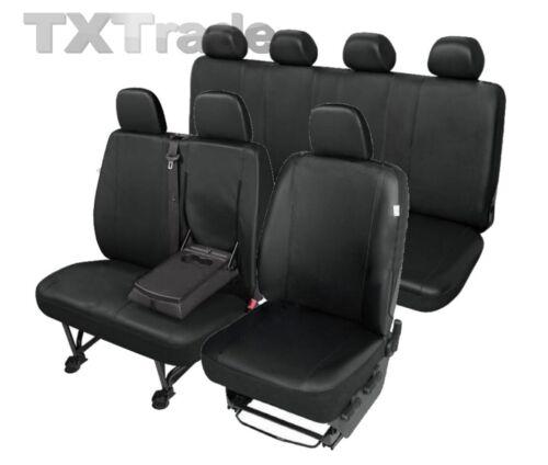 Kunstleder Sitzbezüge VW  CRAFTER  1+2+4 Sitzbezug Schonbezüge DV1M2T4