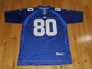 a0e7e6b2 Reebok On Field JEREMY SHOCKEY NEW YORK GIANTS Mens NFL Team Replica ...