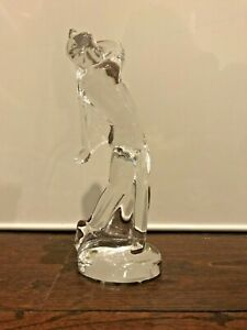 Baccarat-golfer-crystal-figurine