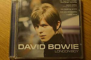 Rare-David-Bowie-London-Boy-CD-Album-Case-and-Booklet-Spectrum-18-Track-Original