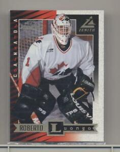 Roberto Luongo Pinnacle Zenith 97 98 Rookie Card Ebay