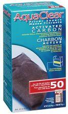Hagen AquaClear 50 Activated Carbon Filter Insert Aquarium Media 2.5 oz A612