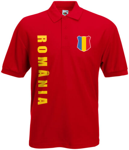 Coupe du monde 2018 Roumanie România Polo-Shirt Maillot Nom Numéro