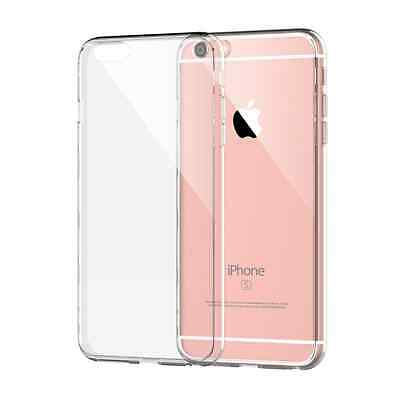 iPhone 6/6S Case - Transparent Crystal Clear Soft Thin Flexible TPU Cover