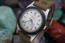 "Vintage GRUEN ""Poor Man's"" OCEAN CHIEF 510 RSS Stainless Steel Skin Diver Watch"