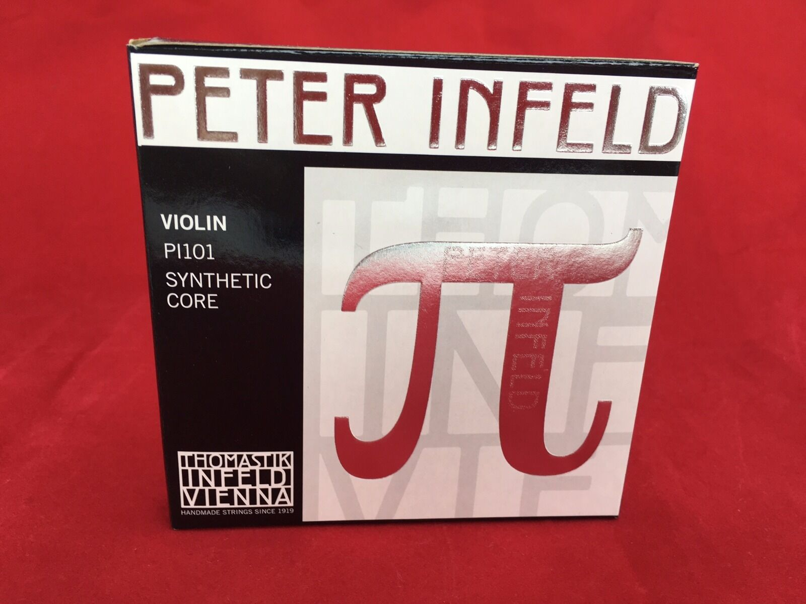 Thomastik Peter Infeld Violin String  Set 4 4 with Tin E