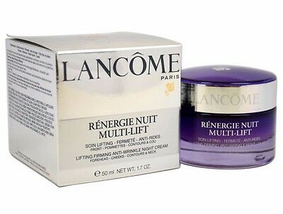 LANCOME Renergie Multi Lift Night Anti-Wrinkle 1.7 oz/50ml New in Box, Sealed