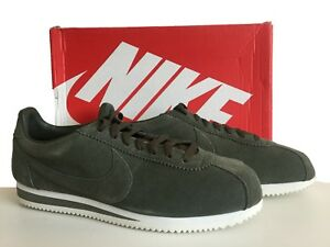 reputable site aae8e 30a5a Image is loading NIKE-CLASSIC-CORTEZ-KHAKI-SUEDE-TRAINERS-SIZE-11