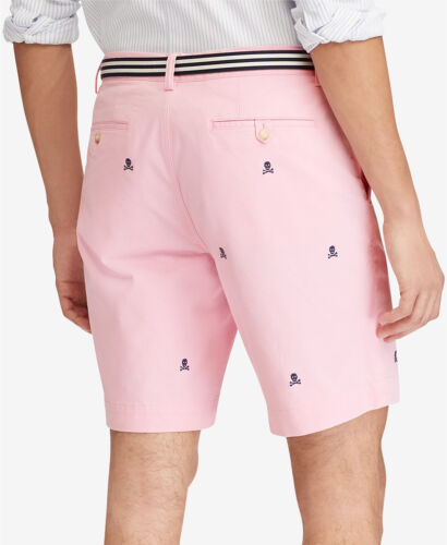 'Scull Nuovi Lauren Stretch uomo Polo 738085254529 28 Shorts Fit Ralph 9 da Classic qaqZRfwzx