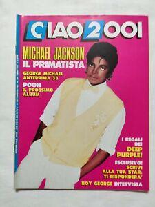 RARE-CIAO-2001-N-38-1987-MICHAEL-JACKSON-GEORGE-MICHAEL-POOH-DEEP-PURPLE-GEORGE