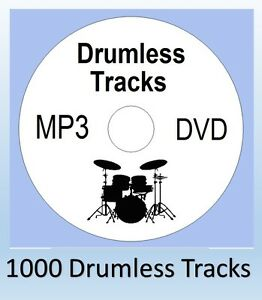 Details about 1000 DRUMLESS MP3 DVD TRACKS REHEARSAL Practice DRUMS ACDC  Black Sabath drum