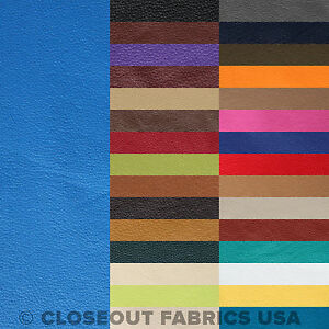 Vinyl Fabric - Faux Leather Pleather Fabric - Upholstery Fabric