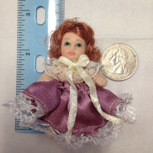 "24 Miniature porcelain dolls 2/"" Inch Regency Anne Belles Vintage-style Lot"