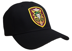 MACV-SOG-MACVSOG-Hat-Black-Ball-Cap-Vietnam-Veteran