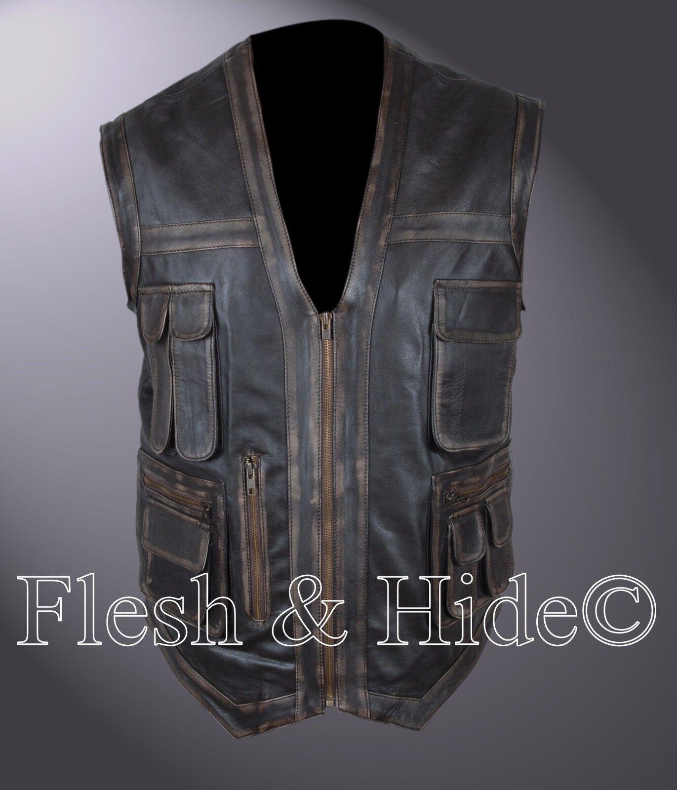 Distressed Jurassic World Chris Pratt Owen Grady Vest