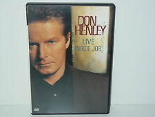 """*****DVD-DON HENLEY""""LIVE-INSIDE JOB""""-2000 BMG Image*****"""