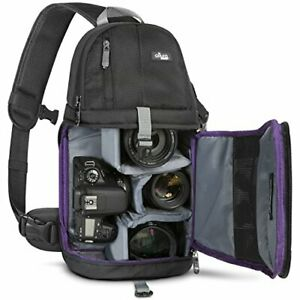 Camera-Sling-Backpack-Bag-for-Canon-Nikon-Sony-DSLR-amp-Mirrorless-by-Altura-Photo