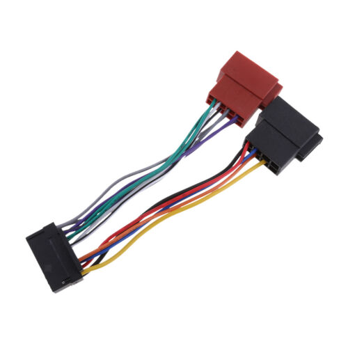 16 Pin ISO Kabelbaum Stecker Adapter Auto Stereo Radio Loom für JVC
