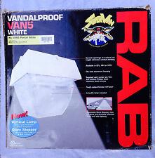 RAB VAN5 150W  METAL HALIDE VANDALPROOF CEILING FIXTURE QUAD TAP WHITE (NEW)