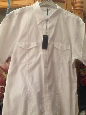 . Nuovo Di Zecca Con Etichetta. Bianco Urban Spirit Collection. Taglia. Xl. Con Due Tasche-mostra Il Titolo Originale