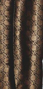 1M-BANARSI-COPPER-BLACK-BROCADE-JACQUARD-FABRIC-45-034-WIDE