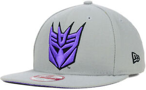 Image is loading New-Era-Transformers-Decepticons -Megatron-Logo-Practice-9Fifty- 010b9f4ee96