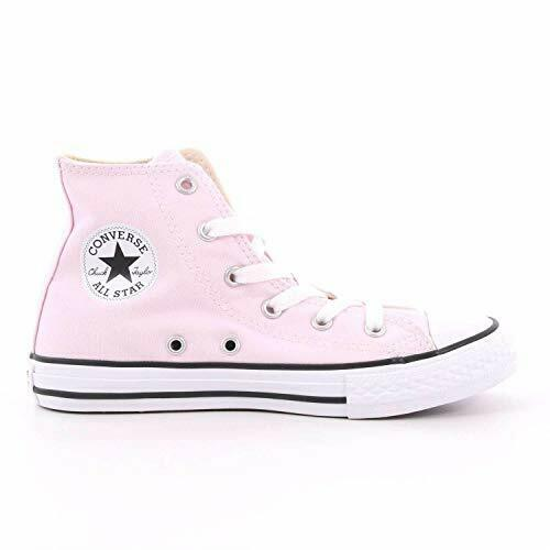 Scarpe sportive bambina CONVERSE All Star Hi alte PS in tela rosa 663630C