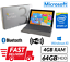 Microsoft-Surface-3-Table-4GB-RAM-64GB-HDD-Win-10-Webcam-UK-Seller-Sim-Excellent thumbnail 1
