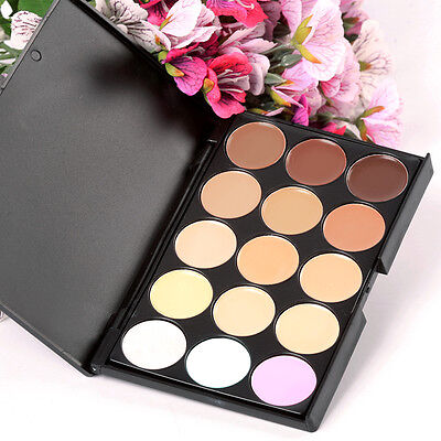 New Camouflage Concealer Make Up Cream Palette Eyeshadow 15 Color