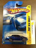 Buick Grand National 10 Kmart Only Blue 2007 Hot Wheels D7