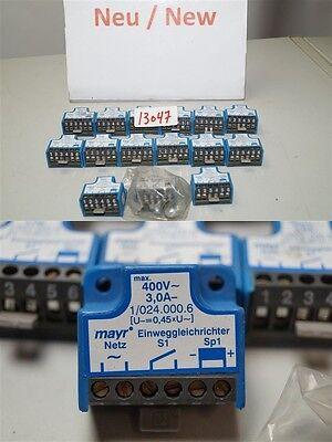 mayr einweggleichrichter 400v  3,0A