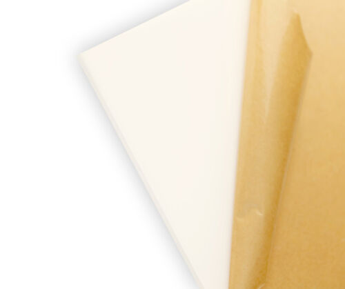 "Translucent Bright White #7328 Acrylic Plexiglass sheet 1//4/"" x 12/"" x 24/"""