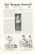 1905 Mr Ernest De Pass Negro Boy Jack Simla Coaching China Cartoon