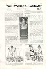 1905 Mr Ernest De Pass Negro Boy Jack Simla Coaching China Cartoon