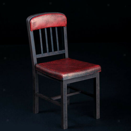 Vintage Red 1//6 Chair Furniture Toy for 12/'/' Sideshow Dragon Action Figure