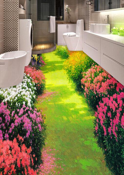 3D Jardin 16 Fond d'écran d'écran d'écran étage Peint en Autocollant Murale Plafond Chambre Art b42fac