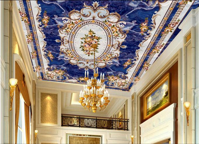 3D Elegant Pattern 8 Ceiling WallPaper Murals Wall Print Decal Deco AJ WALLPAPER