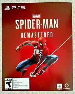 🎮 PS5 Marvels Spiderman Remastered Edition For Sony Playstation 5 + DLC Code 🎮