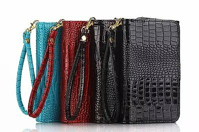 Luxury Magnetic Flip Leather Pouch Cover Wallet Many Card Case For Lot Phones