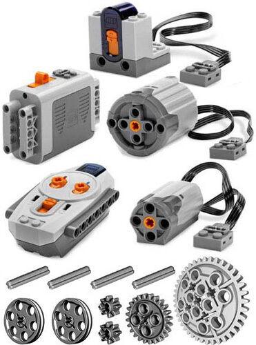 LEGO Power Functions Set 2 (Technic, Moteur, Récepteur, à distance, contrôle, XL, MEDIUM, R C)