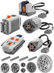 lego power functions set 2 technic motor receiver remote control xl medium r c ebay. Black Bedroom Furniture Sets. Home Design Ideas
